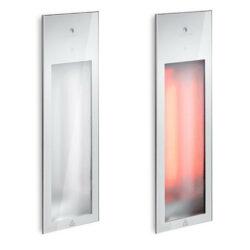 80073 sunshower pure infrafood inbouw 62x20 cm wit