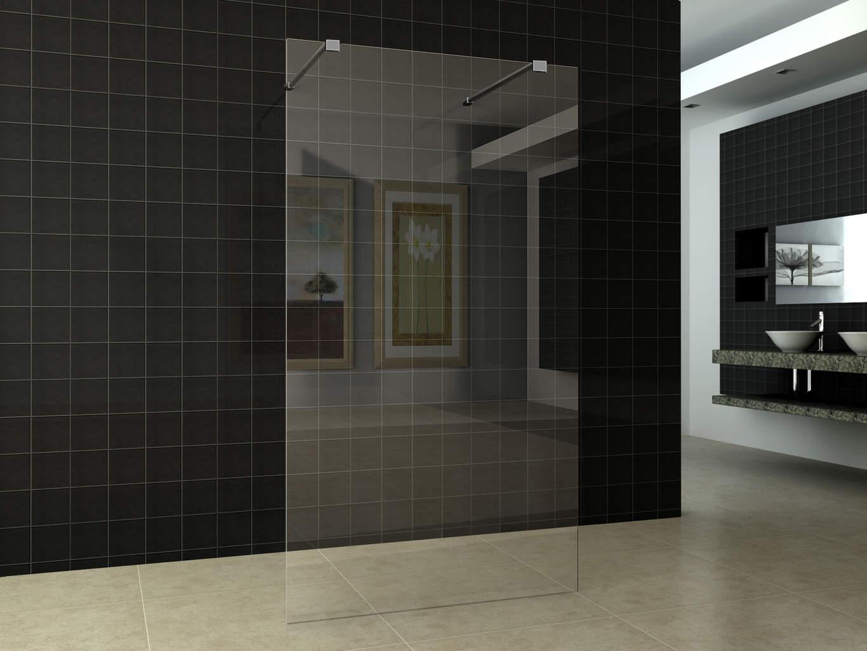 Inloopdouche vrijstaand 1200 x 200010mm nano glas megadump