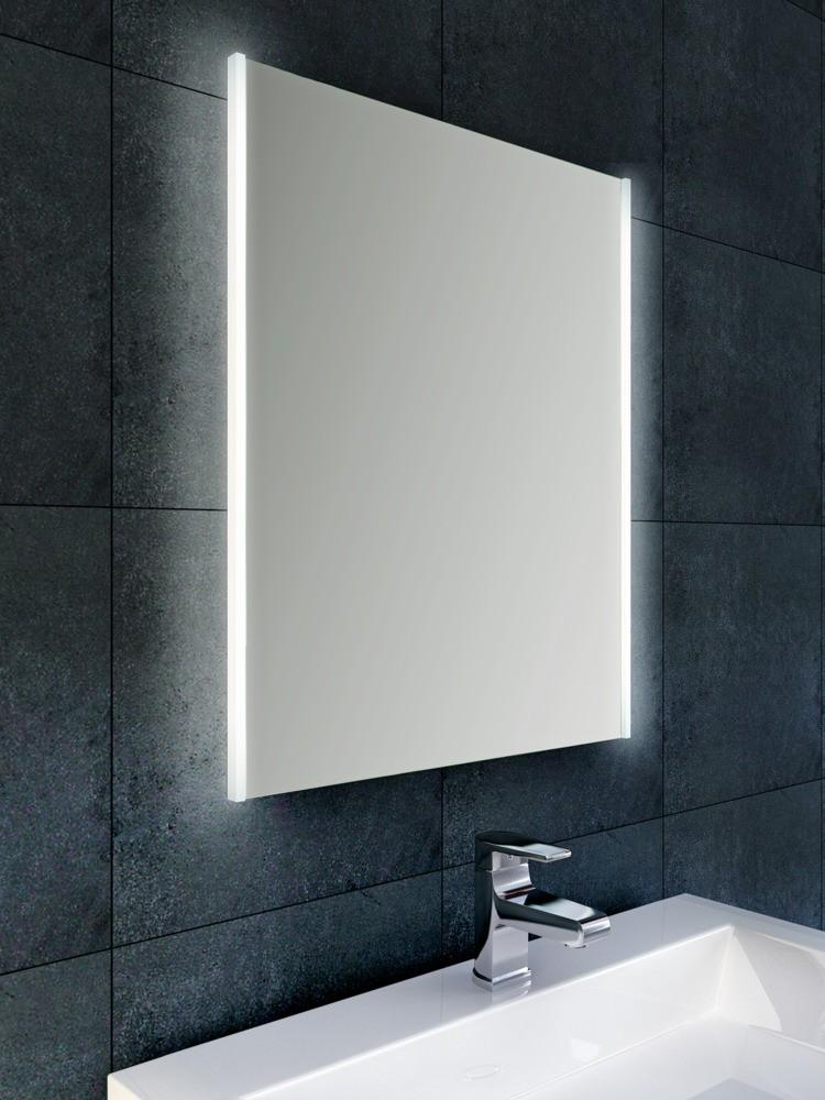 wb duo led condensvrije spiegel 80 x 60 megadump. Black Bedroom Furniture Sets. Home Design Ideas