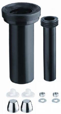 Wandcloset aansluitset 90-110 300mm