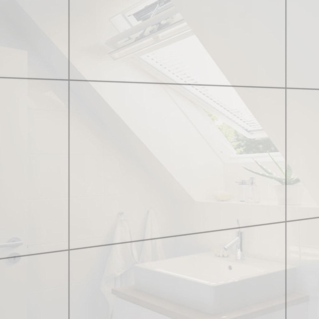 Badkamertegels hoogglans pergamon creme 30 x 60 cm gerectificeerd ...