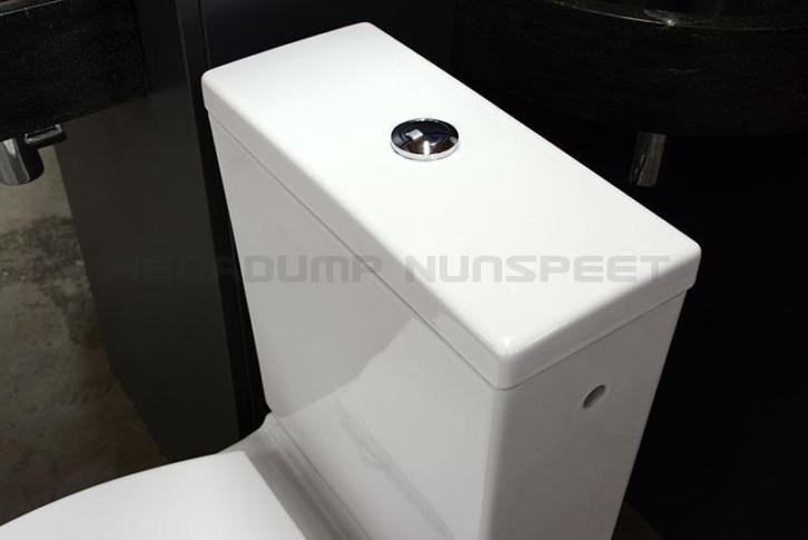 Inloopdouche Met Duoblok : Duoblok verhoogd toilet design seniorentoilet wit megadump