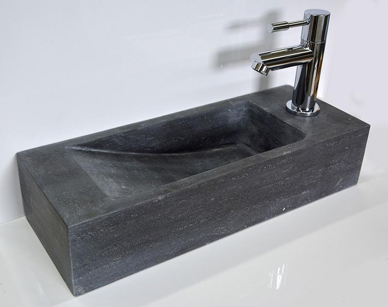 Fontein Natuursteen Toilet : Fontein hardsteen saniflex slim rechts megadump