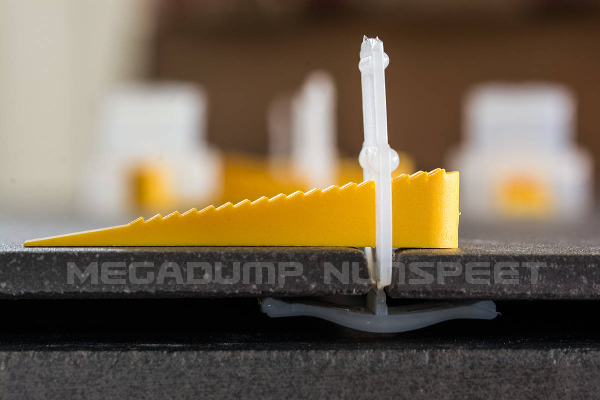 Tegel Levelling Systeem Wiggen En Clips Perfect Vlakke