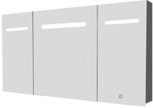 Aluma Spiegelkast inclusief LED verlichting 120x80cm