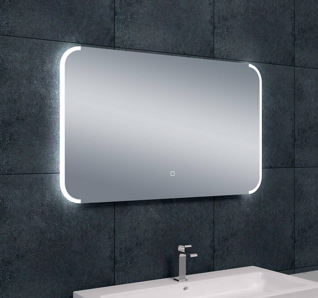 bracket dimbare led condensvrije spiegel 1000x600 megadump. Black Bedroom Furniture Sets. Home Design Ideas