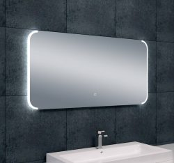 Bracket dimbare LED  condensvrije spiegel 1200x600