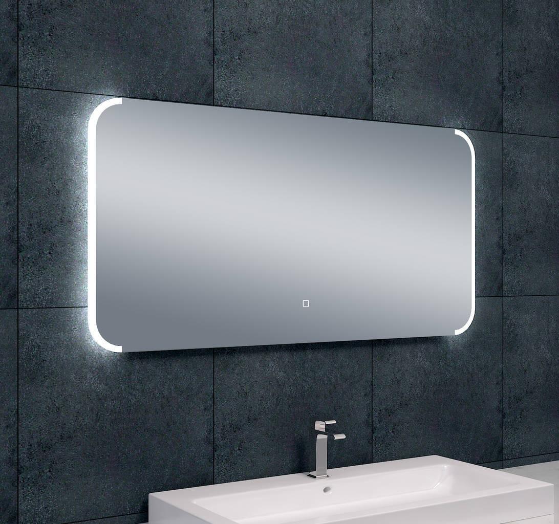 bracket dimbare led condensvrije spiegel 1200x600 megadump. Black Bedroom Furniture Sets. Home Design Ideas