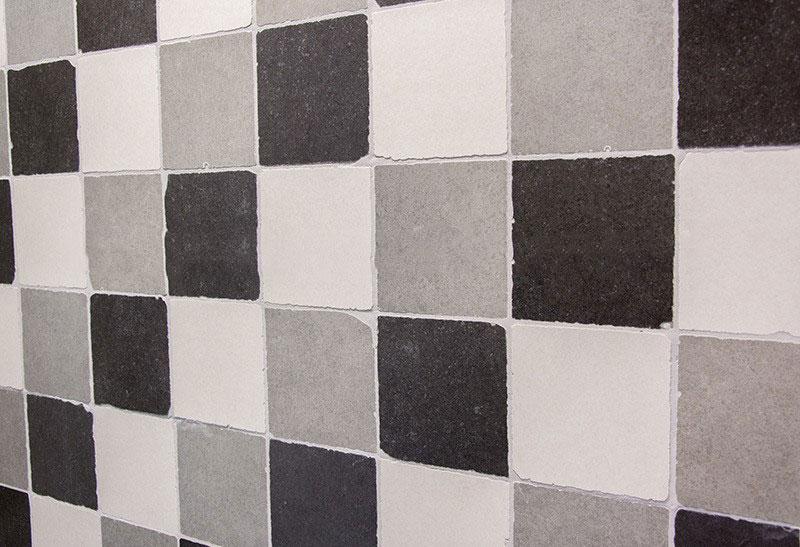 Zwart Wit Tegels.Getrommelde Tegels 15 X 15 Cm Zwart Wit Grijs Mix