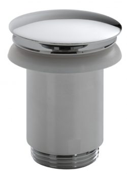 Luxe clickwaste 5/4 hoog model chroom