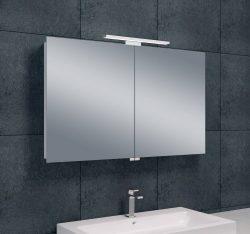 Luxe spiegelkast +Led verlichting 100x60x14cm