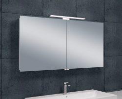 Luxe spiegelkast +Led verlichting 120x60x14cm