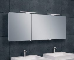 Luxe spiegelkast +Led verlichting 160x60x14cm