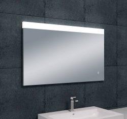 Single dimbare LED  condensvrije spiegel 1000x600
