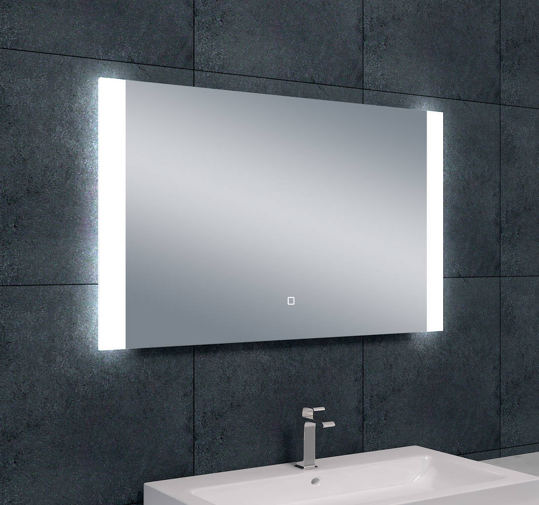 sunny dimbare led condensvrije spiegel 1000x600 megadump. Black Bedroom Furniture Sets. Home Design Ideas