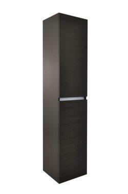 Vision kolomkast 2 deuren 160x35x35 houtnerf grijs
