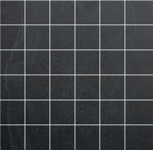 Cristacer Leiden Negro mozaiektegels