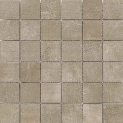 cristacer mont blanc taupe 5x5 33x33 mozaiek