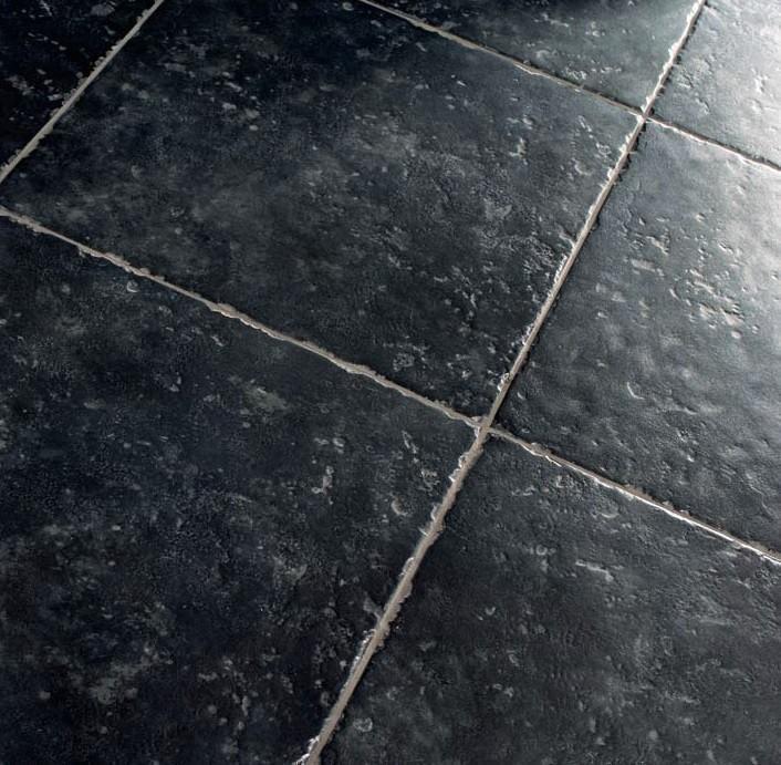 Zwarte Vloertegels 60x60.Zwarte Getrommelde Kloosterlook Vloertegels 50 X 50 Cm
