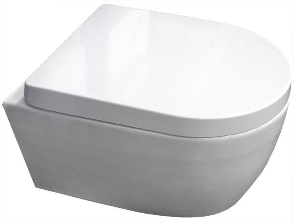 Rimfree wc (wandcloset zonder spoelrand)