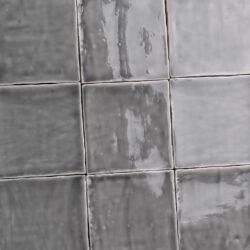 Handvorm tegels oud hollandse witjes donkergrijs 13x13 cm