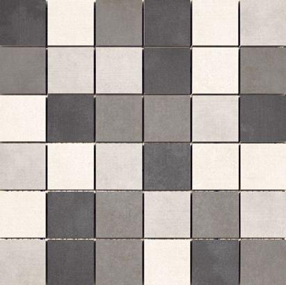Cristacer Nantes Gris mozaiek 5 x 5 - 33 x 33 cm
