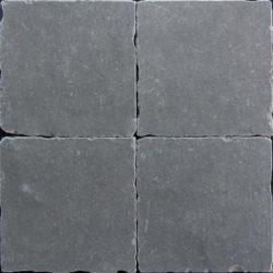 Getrommelde keramische vloertegels grijs 20x20