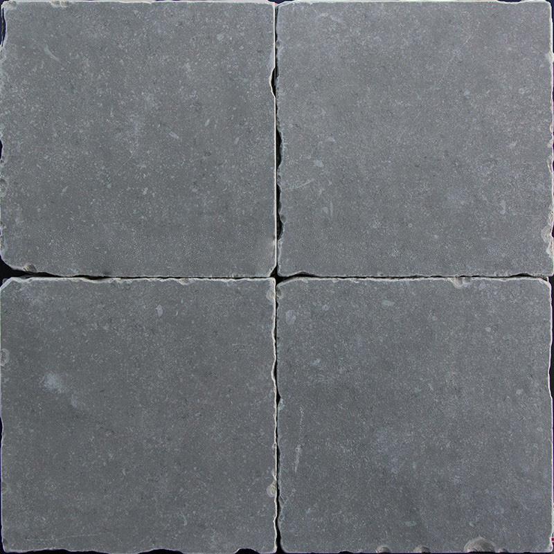 Getrommelde Keramische Vloertegels.Getrommelde Keramische Vloertegels Grijs 20x20