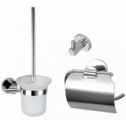 Pro serie chroom bad toilet accessoires set metaal