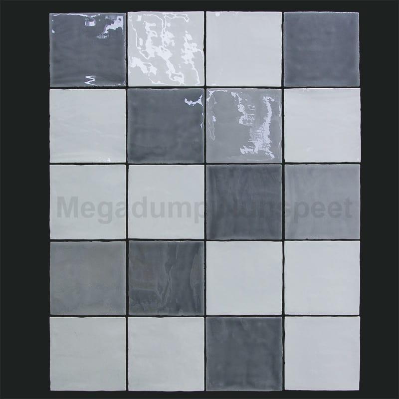 keukentegels wit licht grijs en donker grijs hollandse