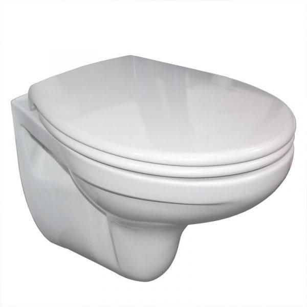 Sphinx wandcloset met softclose toilet zitting