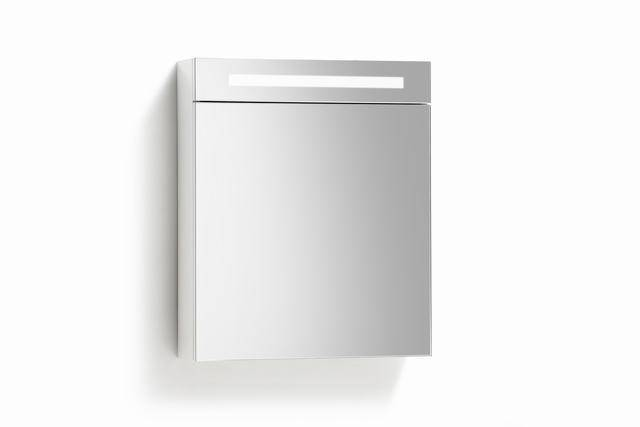Populair Spiegelkast 58 met TL verlichting, stopcontact en schakelaar in 5 PM69