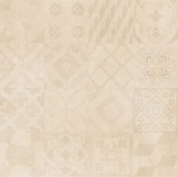 Cristacer MontBlanc Crema decorado 60x60