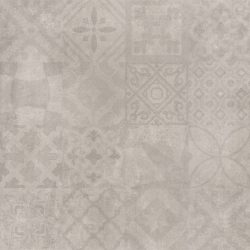 Cristacer MontBlanc Gris decorado 60x60