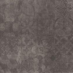 Cristacer MontBlanc Negro decorado 60x60