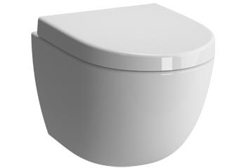 Toilet Accessoires Zwart : Wisa wandcloset toilet set met mat zwart bedieningspaneel