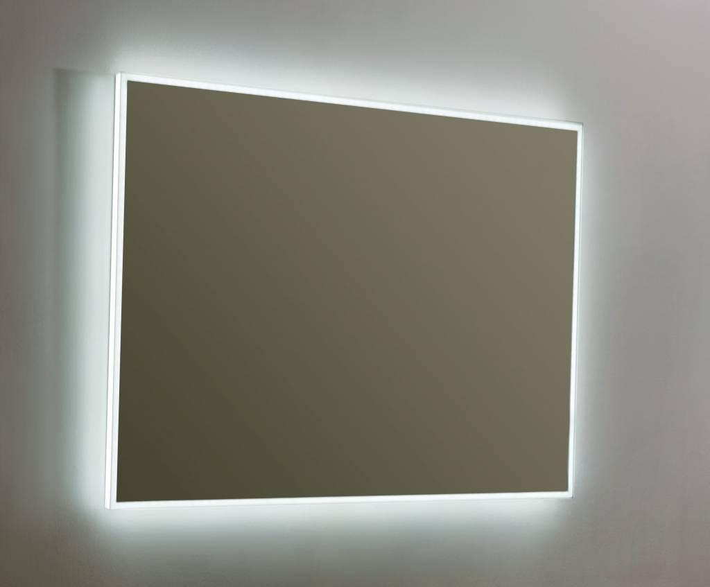Spiegel Led Verlichting : Aluminium spiegel led megadump
