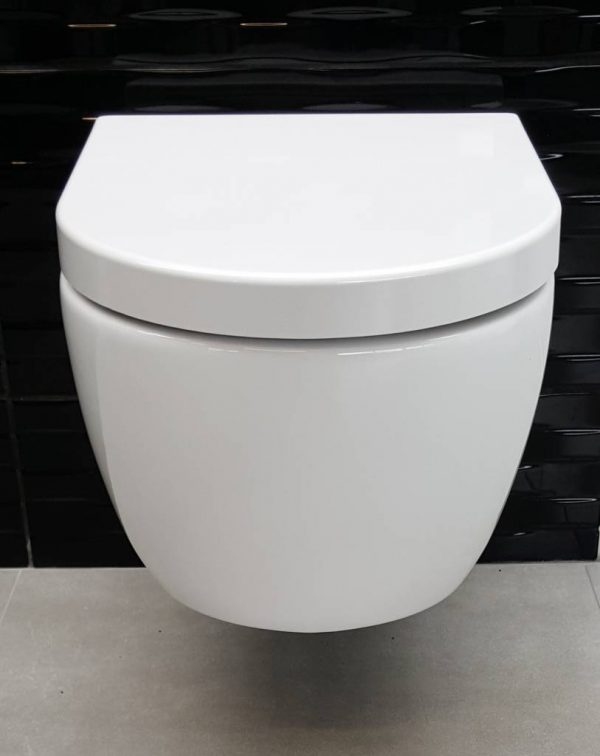 Wandcloset easy flush compact