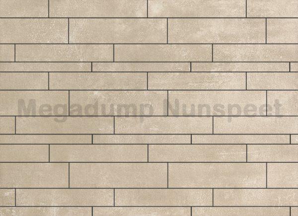 Strokenmix Concrete beige gerectificeerd