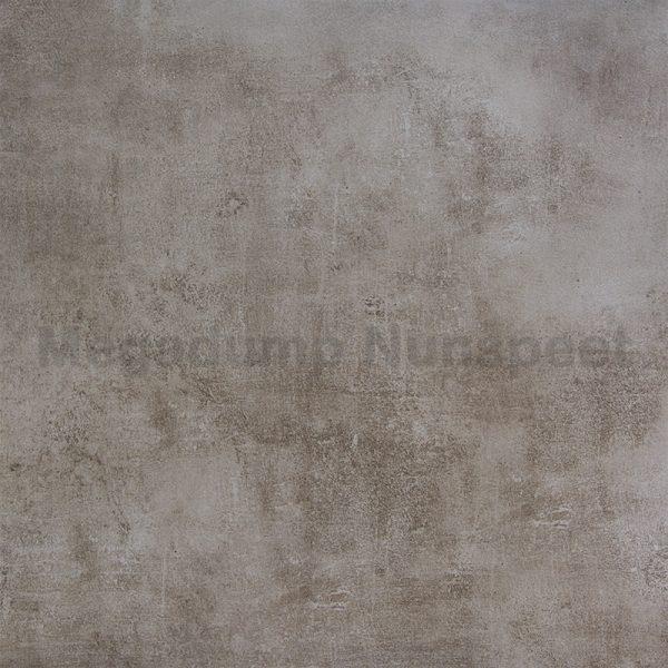 Vloertegels Concrete bruin 60x60 gerectificeerd