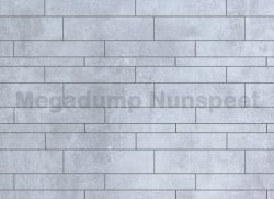Strokenmix Concrete licht grijs gerectificeerd