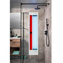 Xenz Feel Good shower inbouw wit aluminium UV & IR FS6020.WI