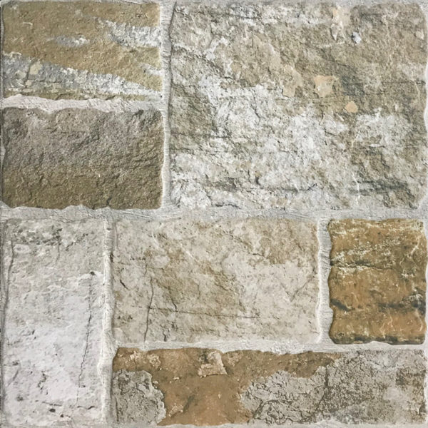 Romaans verband rots tegels Multi Color