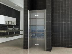 douche-vouwbare-nisdeur-links