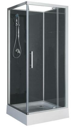 Domino complete douchecabine 210cm 5mm mat glas