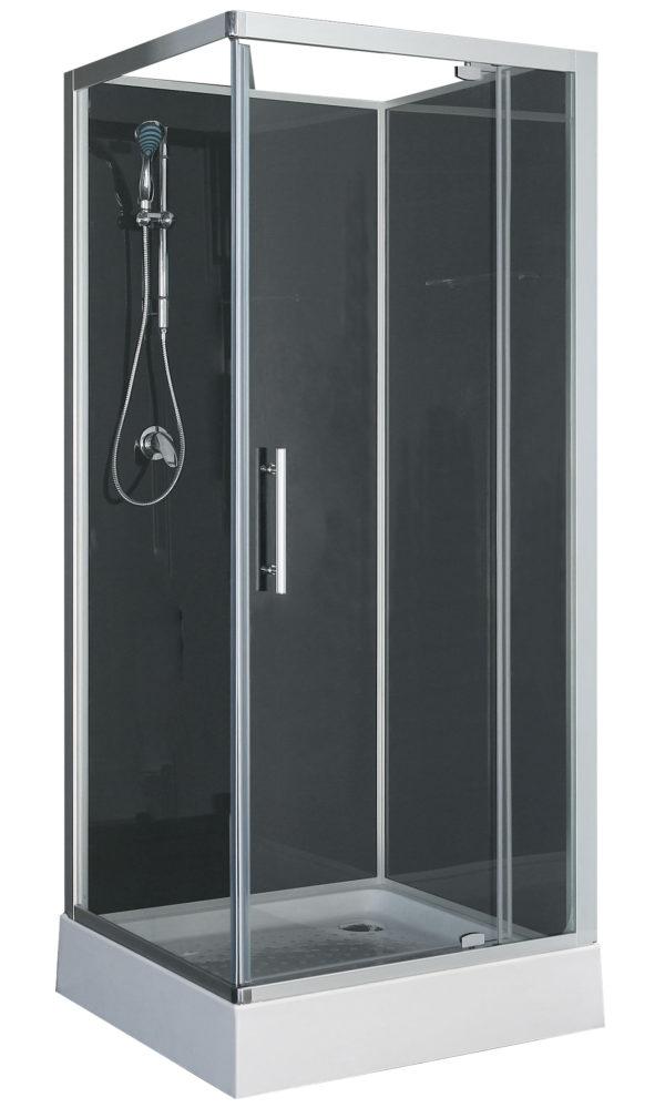 Complete Douchecabine Plaatsen.Domino Complete Douchecabine 210cm 5mm Mat Glas