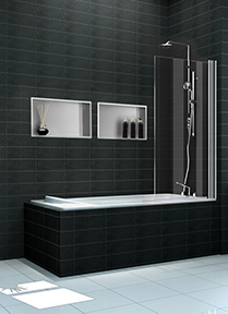 Badkamer RVS inbouwnis