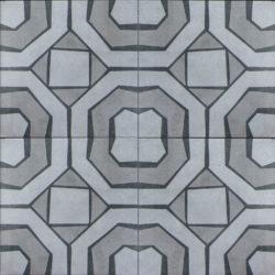 Keramische portugese vintage vloertegels 20,5x20,5 type 7