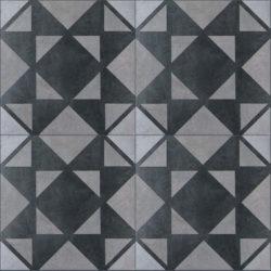 Keramische portugese vintage vloertegels 20,5x20,5 type 9