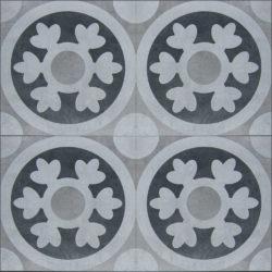Keramische portugese vintage vloertegels 20,5x20,5 type 11